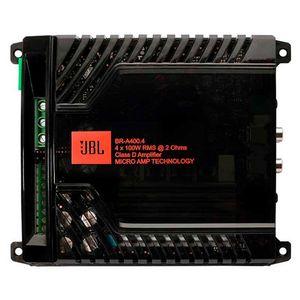 Modulo Amplificador Jbl Br-A400.4 400W Rms 4 Canais 2 Ohms