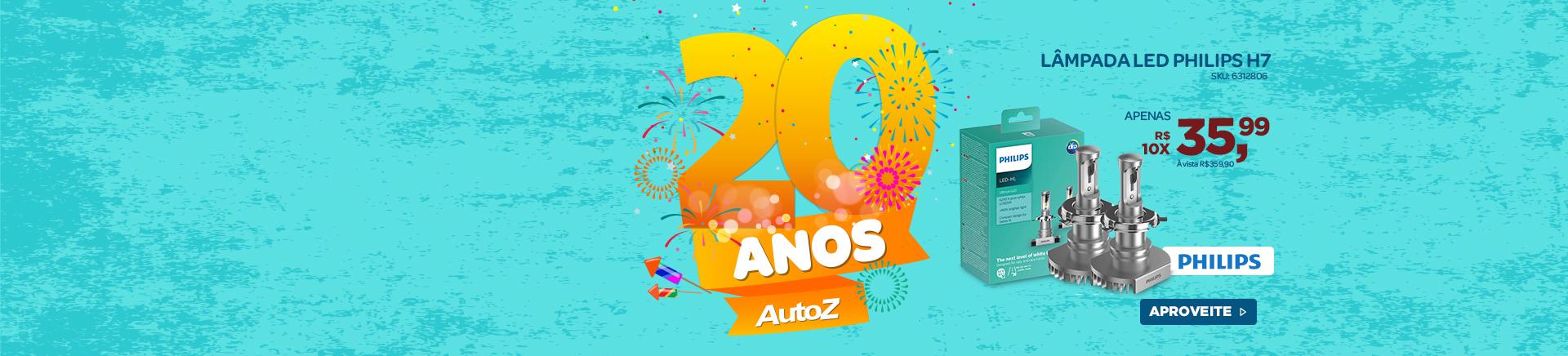 Aniversario AutoZ -Lampada