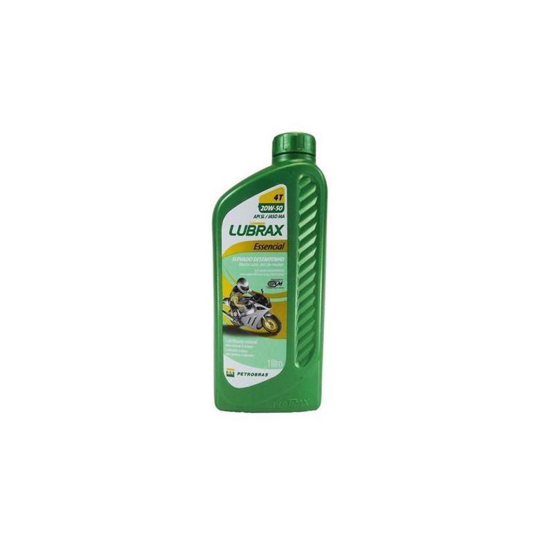 Oleo-Motor-20W50-Sl-Lubrax-Essencial-4T-1L-Mineral-1005401-Petrobras