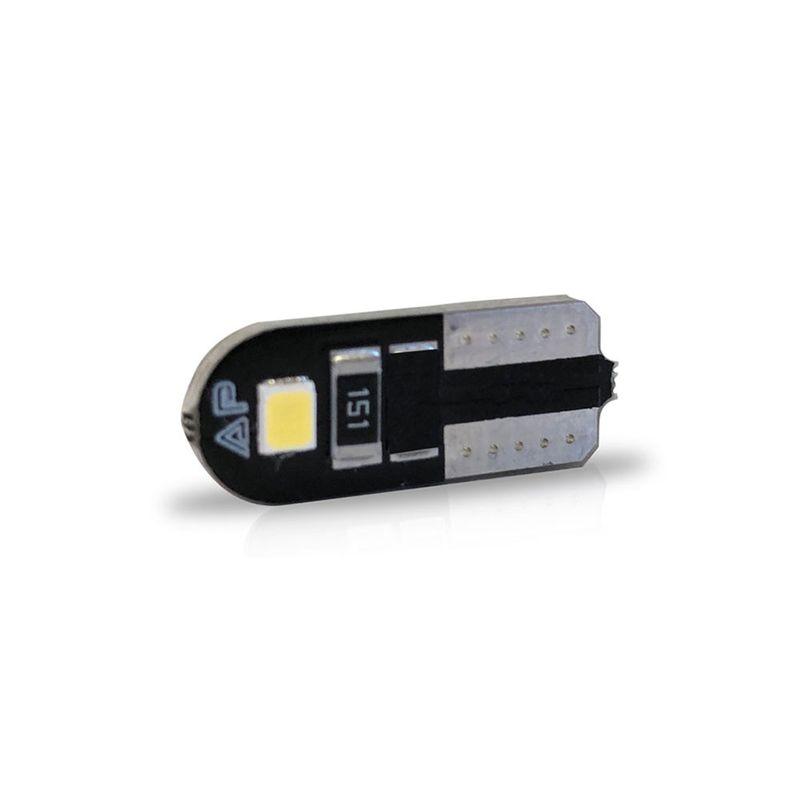 Lampada-Led-Autopoli-Esmagada-T10-Slim-2825-2W-24V-Branco-