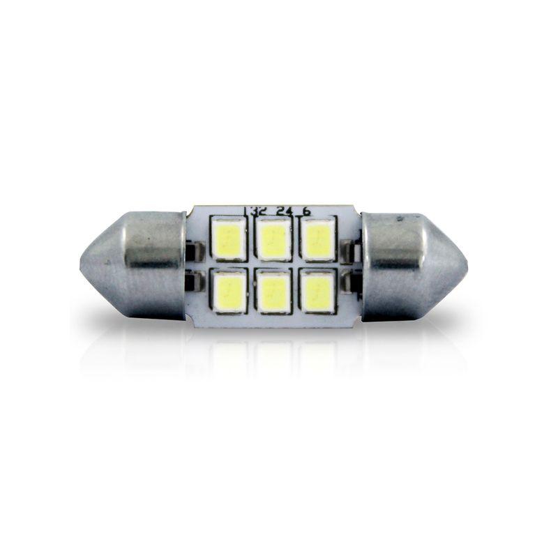 Lampada-Led-Autopoli-Torpedo-6L-32Mm-18W-12V-Branco