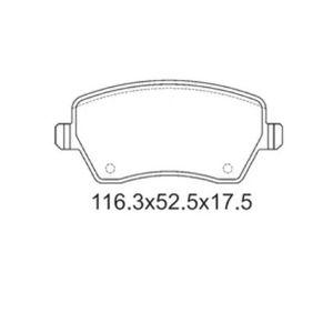 4217799-pastilha-freio-dianteira-sem-alarme-sistema-trw-2340-syl