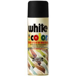 Tinta-Spray-White-Color-Preto-Fosco-340M