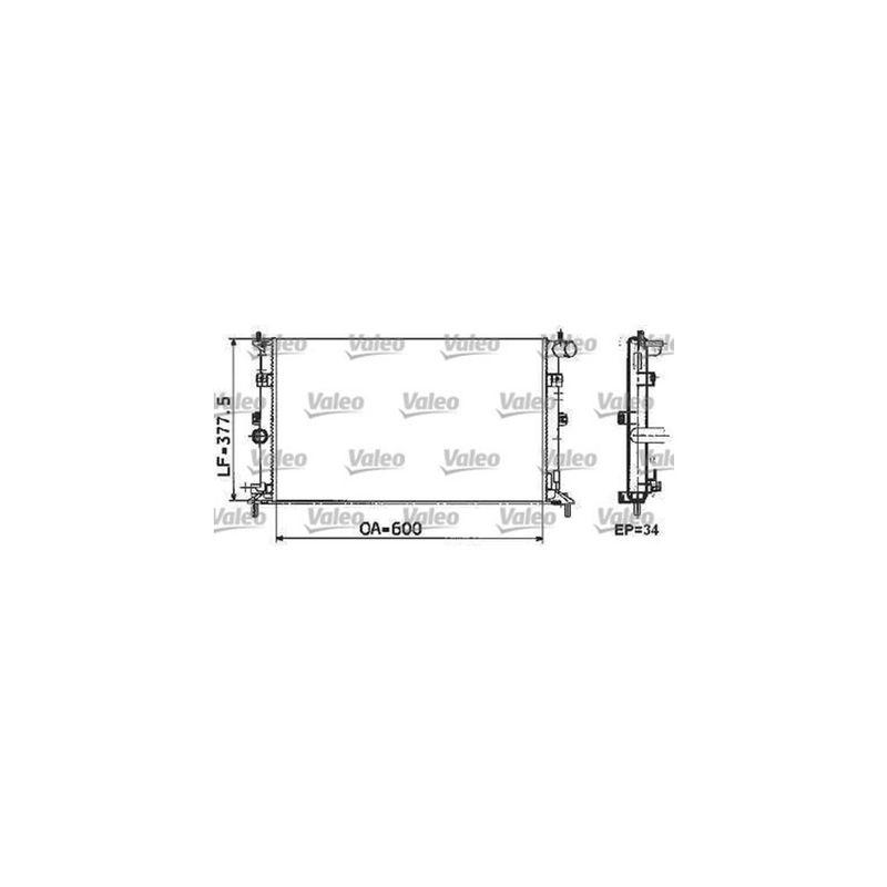 Radiador-Agua-C--Ar-732804R-Valeo-sku-55540