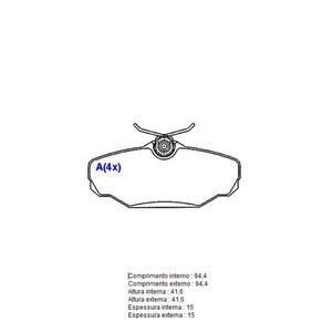 Pastilha-Freio-Convencional-Traseira-Sem-Alarme-Sistema-Varga-1082-Syl
