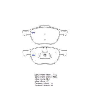 Pastilha-Freio-Convencional-Dianteira-Sistema-Teves-1212-Syl