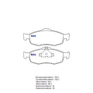 Pastilha-Freio-Convencional-Dianteira-Sistema-Teves-1220-Syl