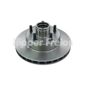 Disco-Freio-Dianteiro-Ventilado-Com-Cubo-261Mm-5-Furos-Hf16D-Hipper-Freios