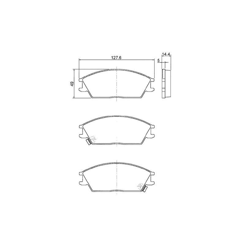 Pastilha-Freio-Convencional-Dianteira-Com-Alarme-0986Bb0092-Bosch