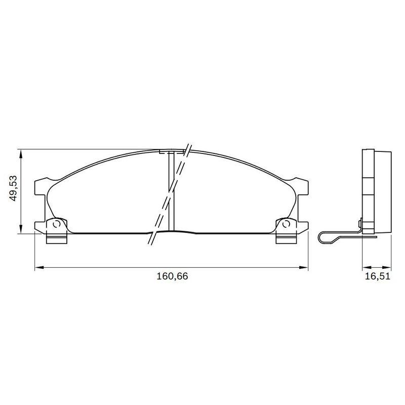 Pastilha-Freio-Convencional-Dianteira-Com-Alarme-Bb427-0986Bb0157-Bosch
