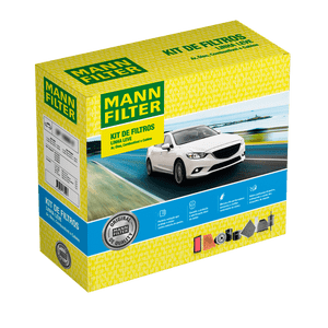 Kit-de-Filtros-Fiat-Palio-Fiorino-1.4-Evo-2013-a-2021-Ar-Condicionado-Cabine-Combustivel-e-Oleo-Mann-SP110674-Frente